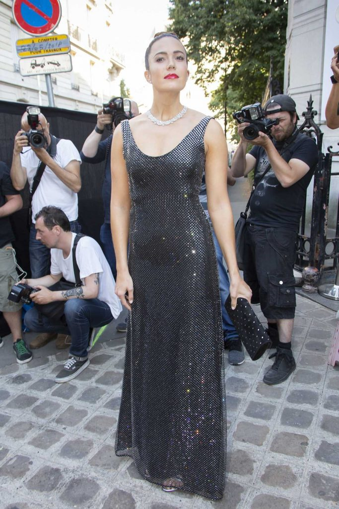 Mandy Moore Attends 2018 Vogue Foundation Dinner at Palais Galleria in Paris 07/03/2018-1