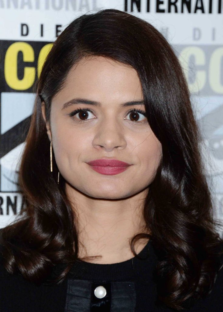 Melonie Diaz at the Charmed TV Show Photocall in San Diego 07/19/2018-4