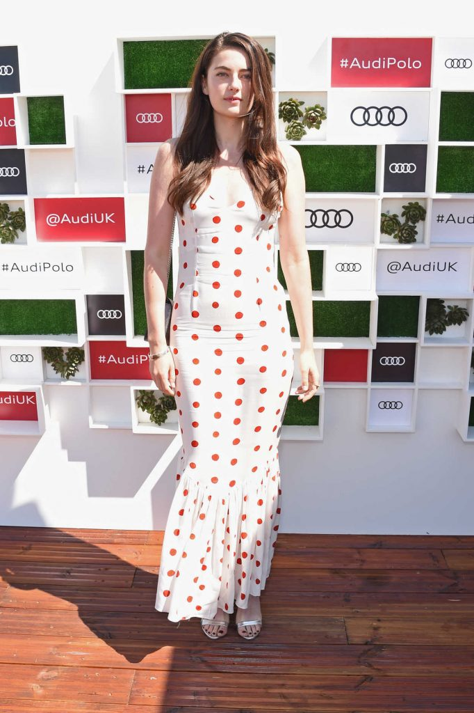 Millie Brady at Audi Polo Challenge at Coworth Park Polo Club in Ascot 06/30/2018-1
