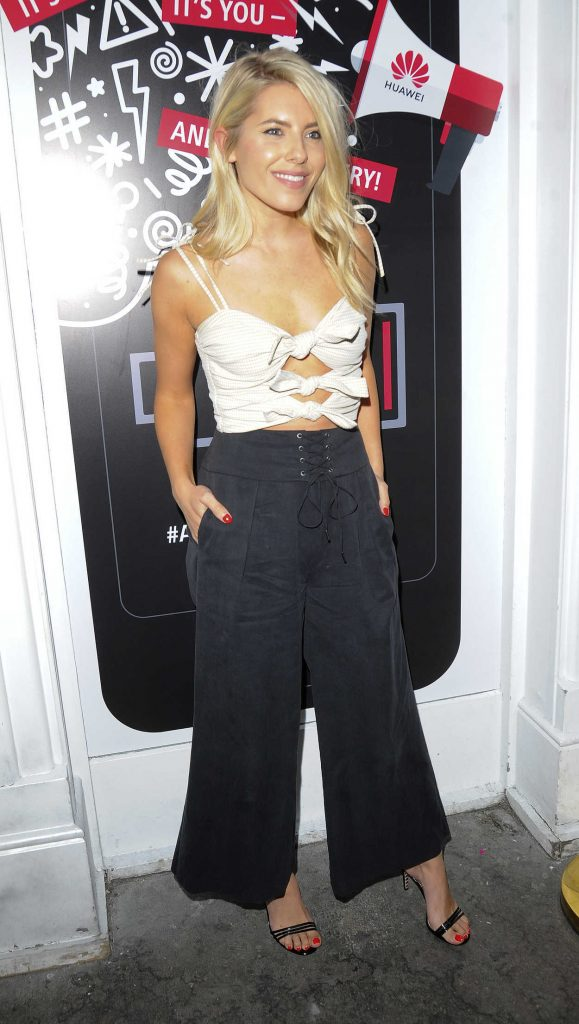 Mollie King at the Huawei A Phone Break-Up Party in London 07/18/2018-1