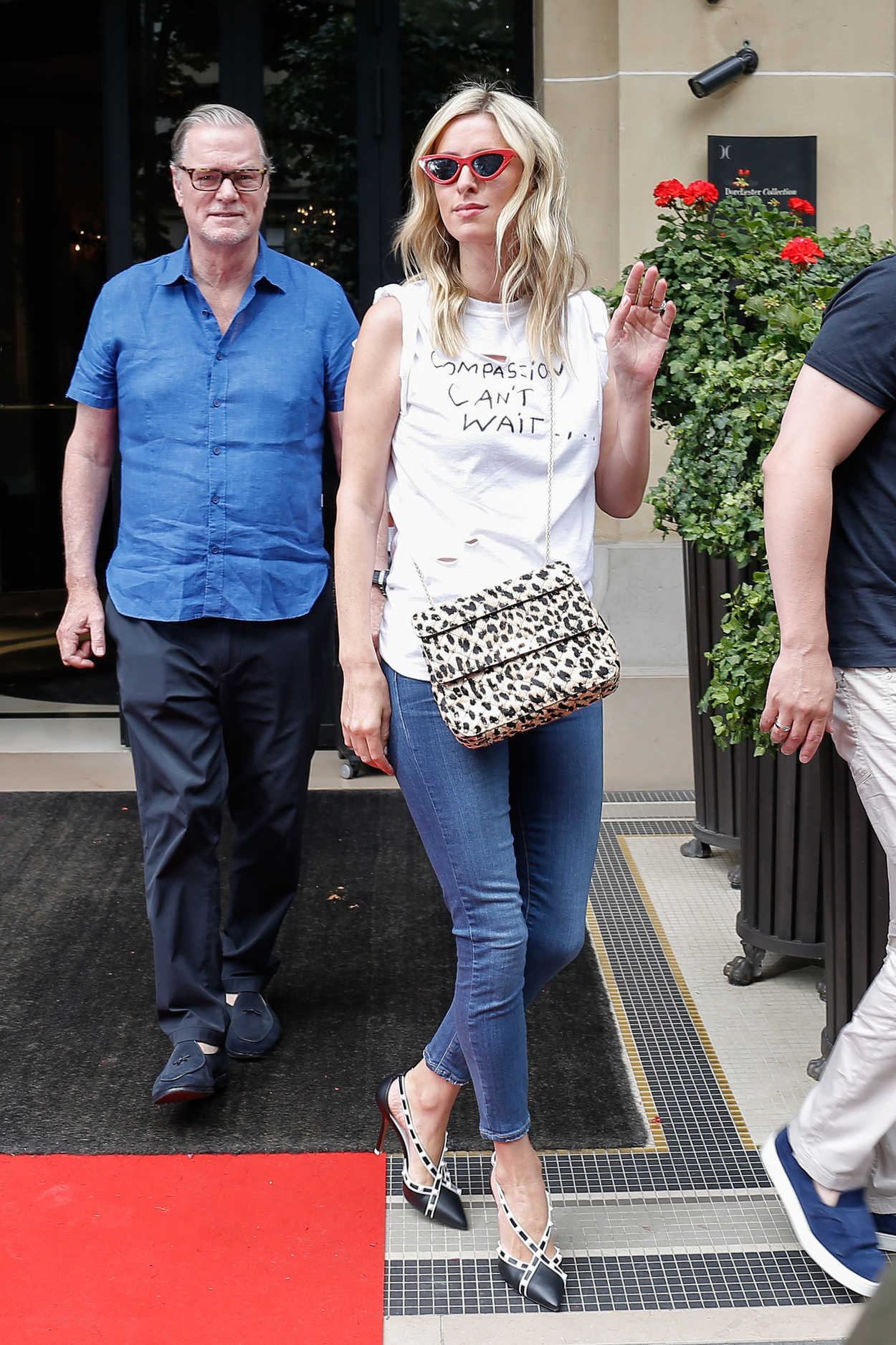 Nicky Hilton Leaves Her Hotel In Paris 07 03 2018