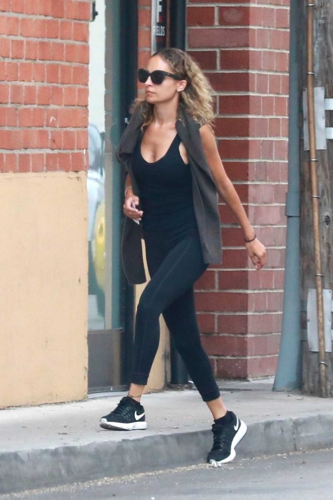 Nicole Richie Heads to the Gym in Studio City 07/10/2018-2