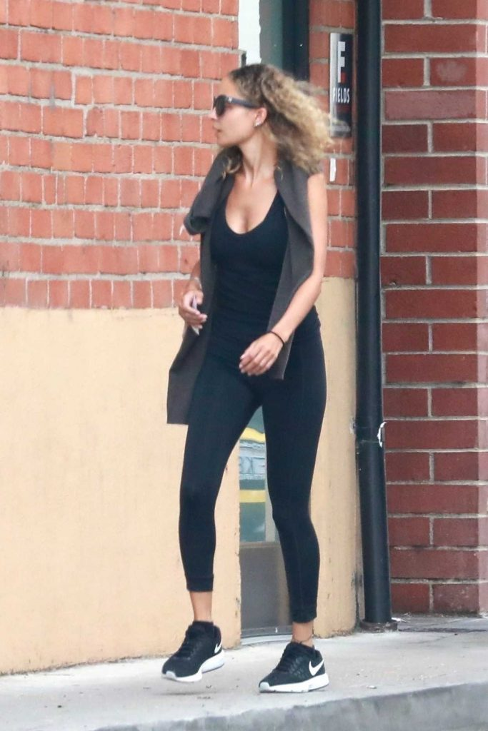 Nicole Richie Heads to the Gym in Studio City 07/10/2018-3