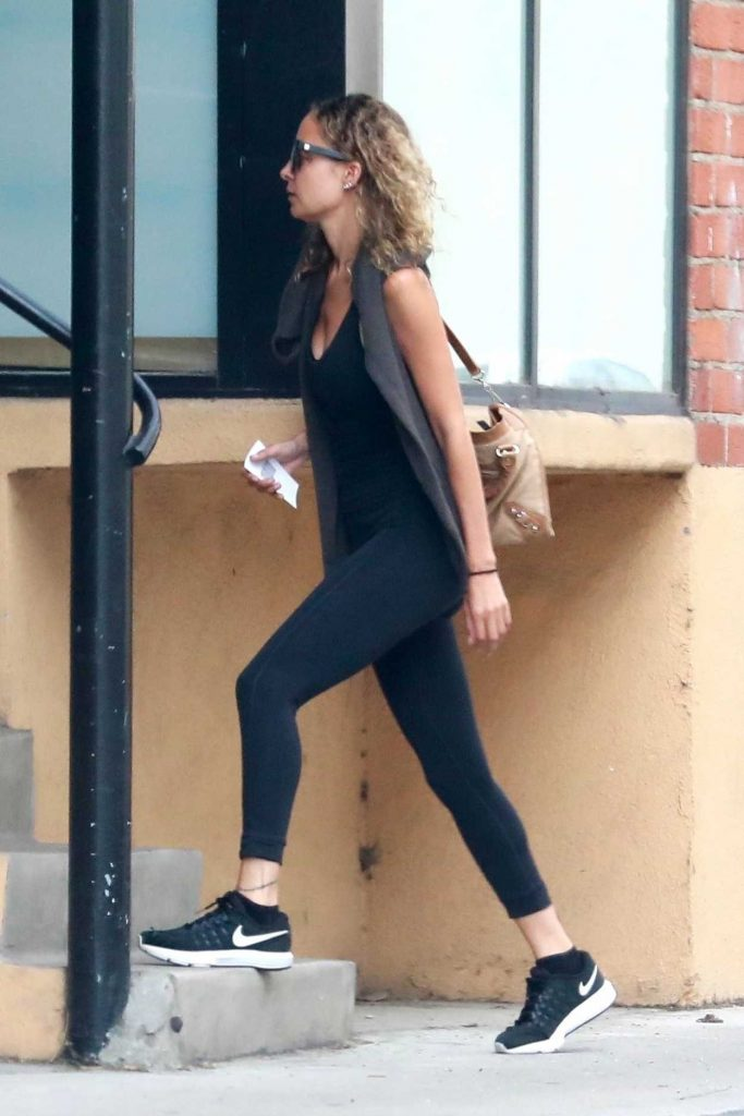 Nicole Richie Heads to the Gym in Studio City 07/10/2018-5