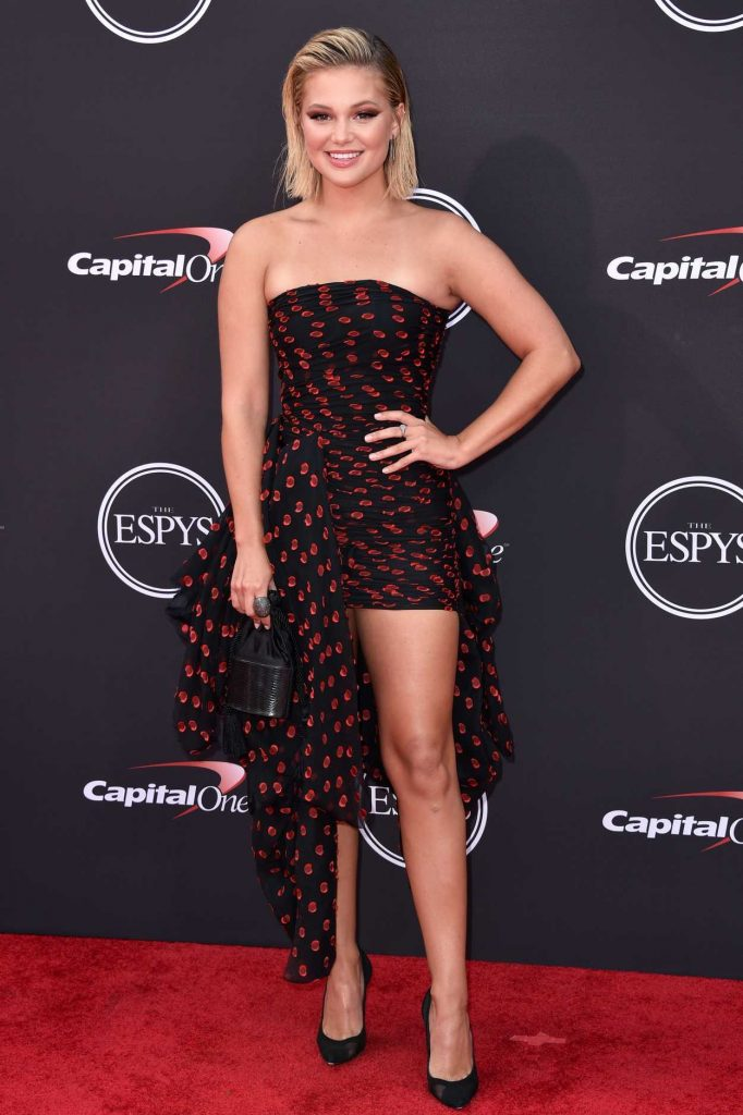 Olivia Holt at 2018 ESPY Awards in Los Angeles 07/18/2018-1