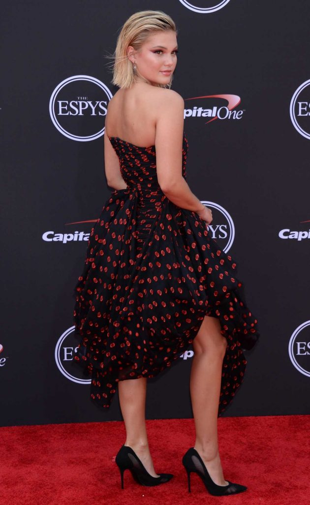 Olivia Holt at 2018 ESPY Awards in Los Angeles 07/18/2018-2