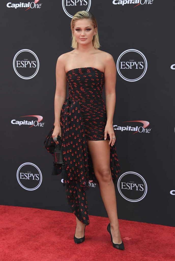 Olivia Holt at 2018 ESPY Awards in Los Angeles 07/18/2018-3