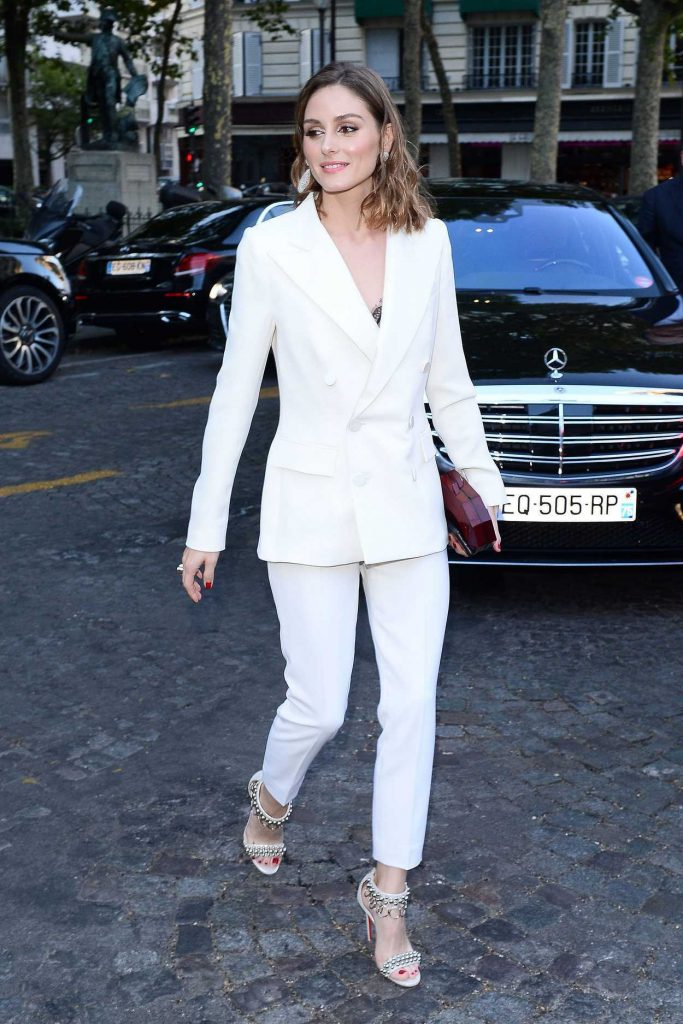 Olivia Palermo Attends 2018 Vogue Foundation Dinner at Palais Galleria in Paris 07/03/2018-1