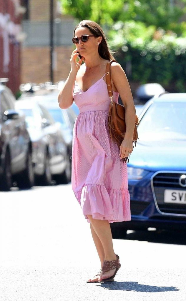 Pippa Middleton Goes Shopping Out in London 06/30/2018-4