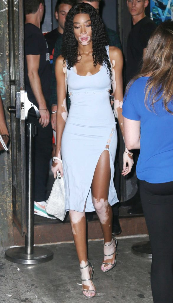 Winnie Harlow Night Out in NYC 07/19/2018-1