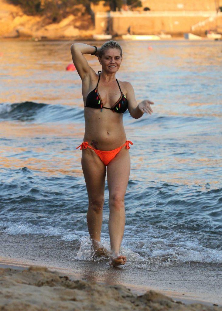 Danniella Westbrook in Bikini