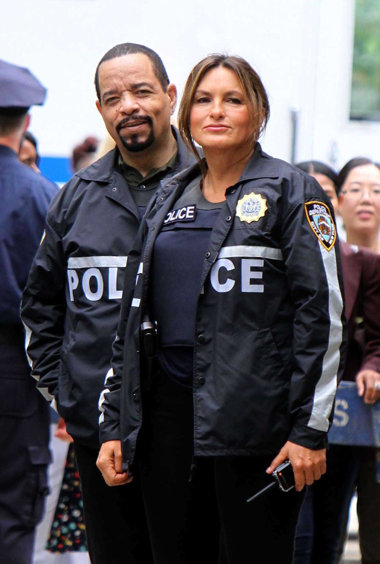 Mariska Hargitay On The Set Of Law And Order Svu In