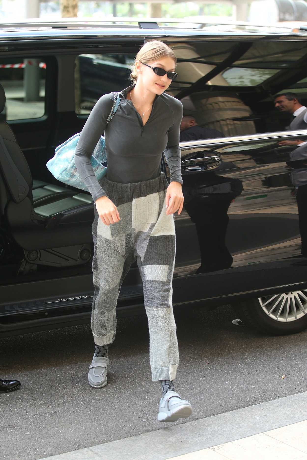 Gigi Hadid Was Spotted Out in Milan 09/19/2018 – celebsla.com