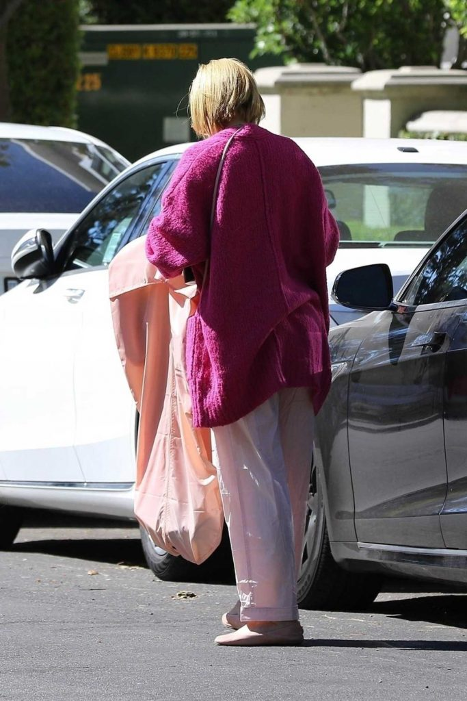 Rumer Willis in a Lilac Camisole