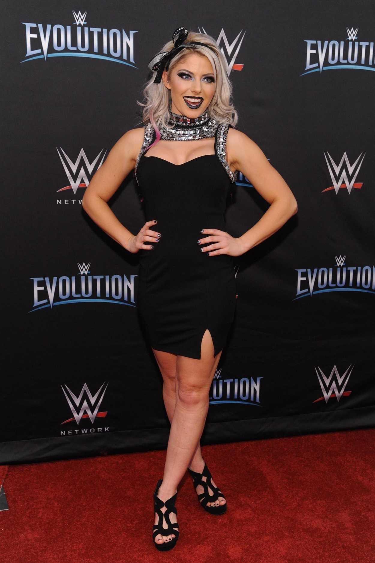Alexa Bliss Attends Wwe S First Ever All Women S Event