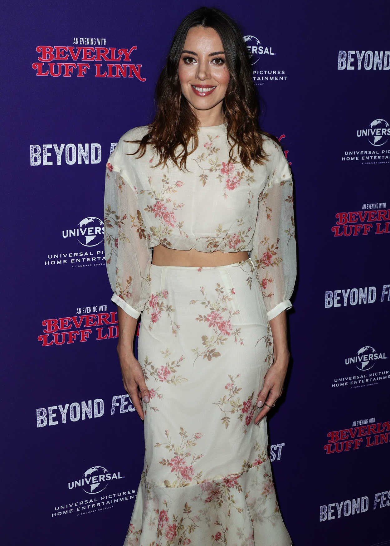 Aubrey Plaza At An Evening With Beverly Luff Linn Premiere