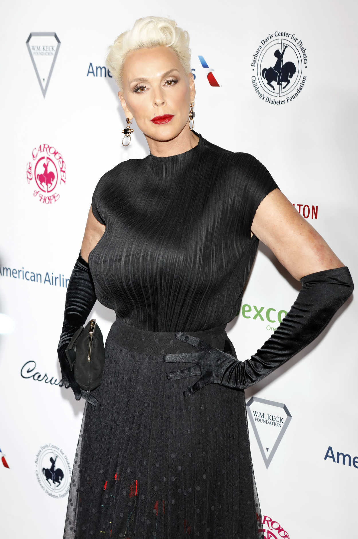 Brigitte Nielsen at 2018 Carousel of Hope Ball in Beverly ...