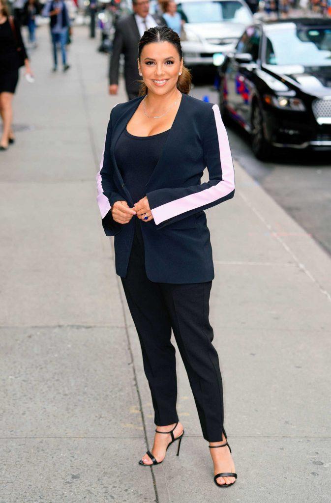 Eva Longoria in a Black Pants
