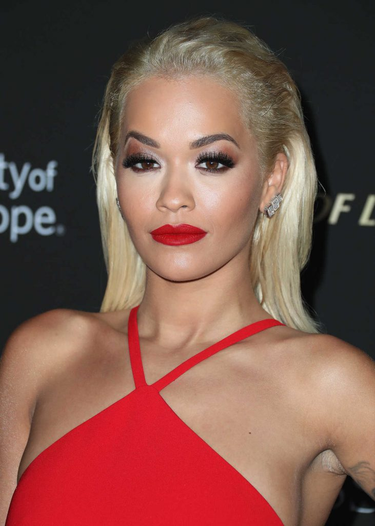 Rita Ora Attends City ...