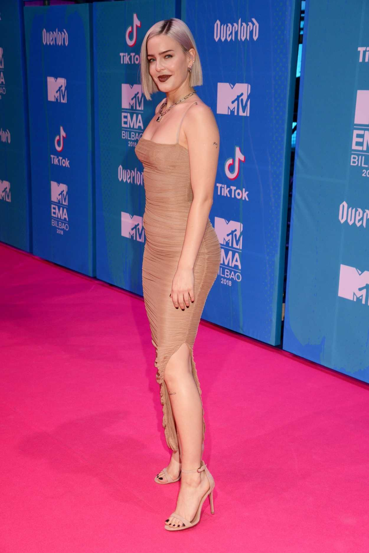 Anne Marie Attends 2018 MTV EMAs At The Bilbao Exhibition Centre In Bilbao Spain 11042018