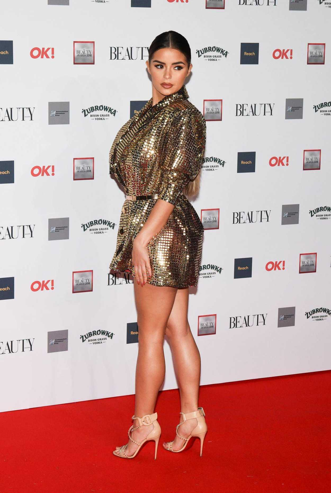 Demi Rose Attends The Beauty Awards With Ok In London 11