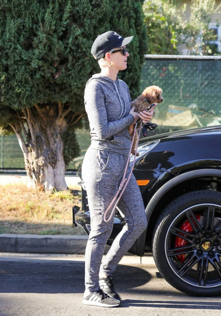 Katy Perry in a Black Adidas Cap