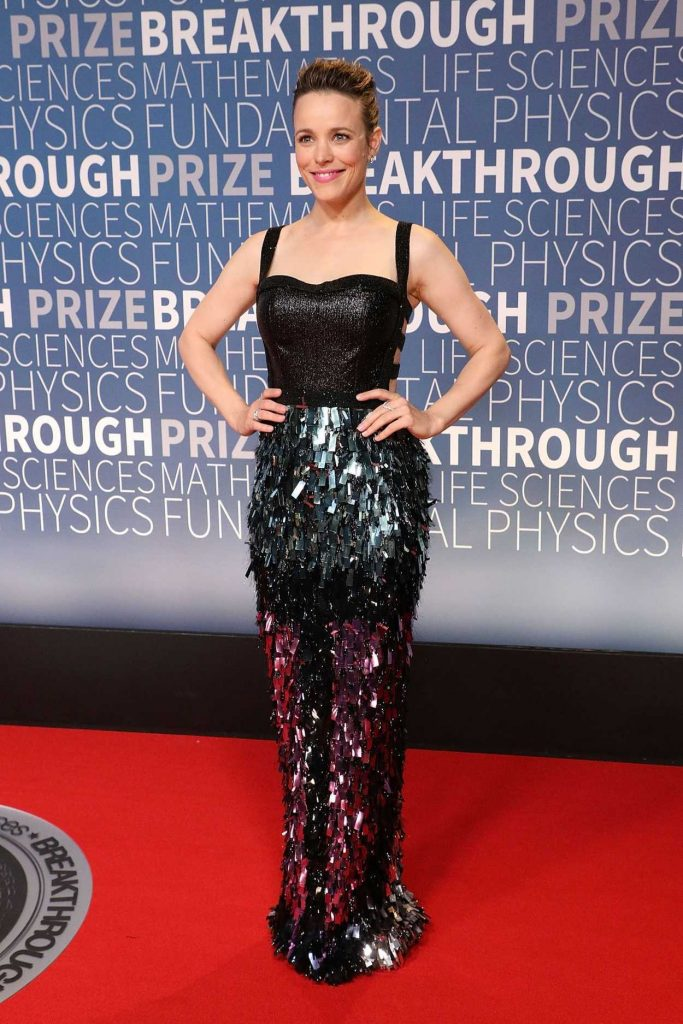 Breakthrough Prize 2018 >> Rachel McAdams Attends the 7th Annual Breakthrough Prize Ceremony at NASA Ames Research Center ...