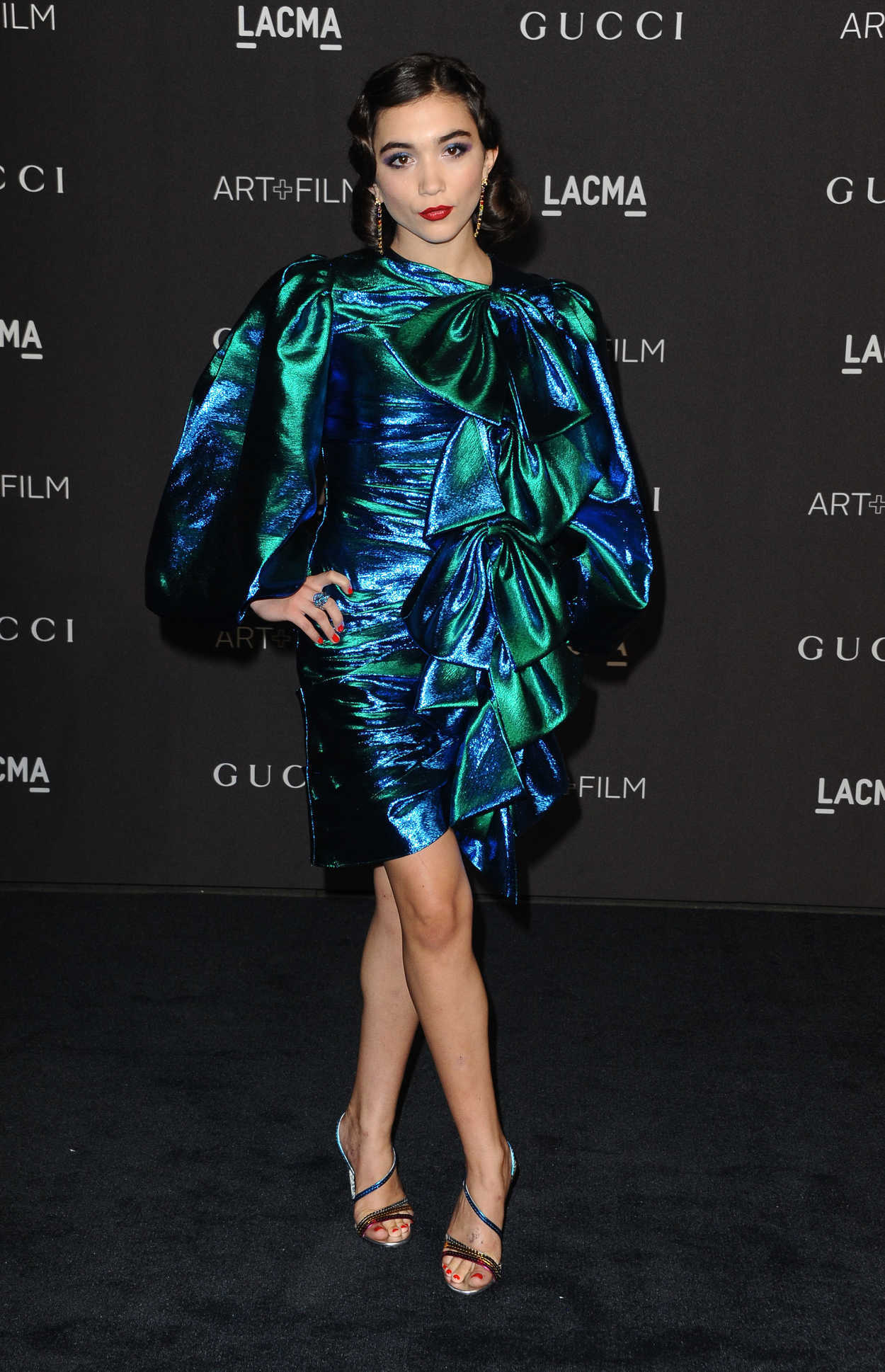 Rowan Blanchard Attends 2018 LACMA Art And Film Gala In Los Angeles 11032018
