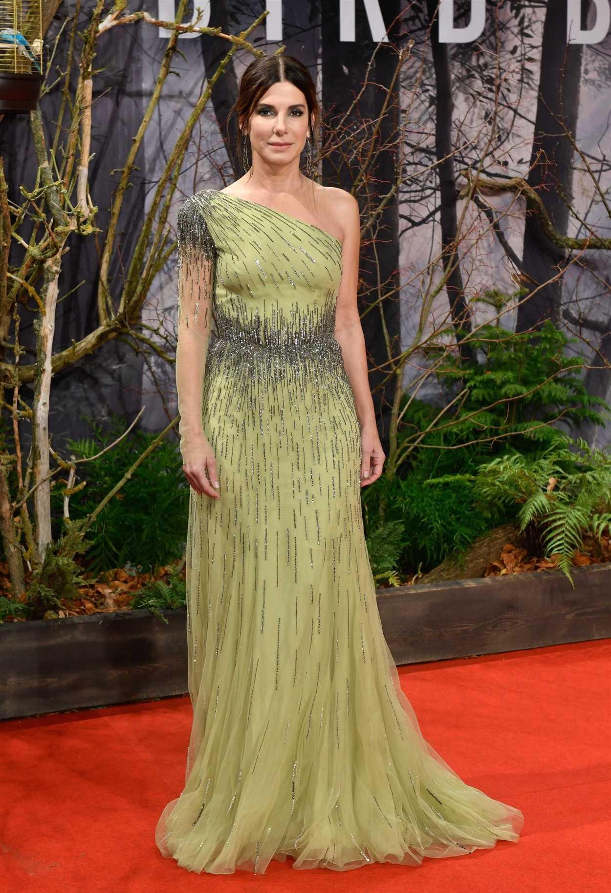 Sandra Bullock at the Bird Box European Premiere in Berlin ...