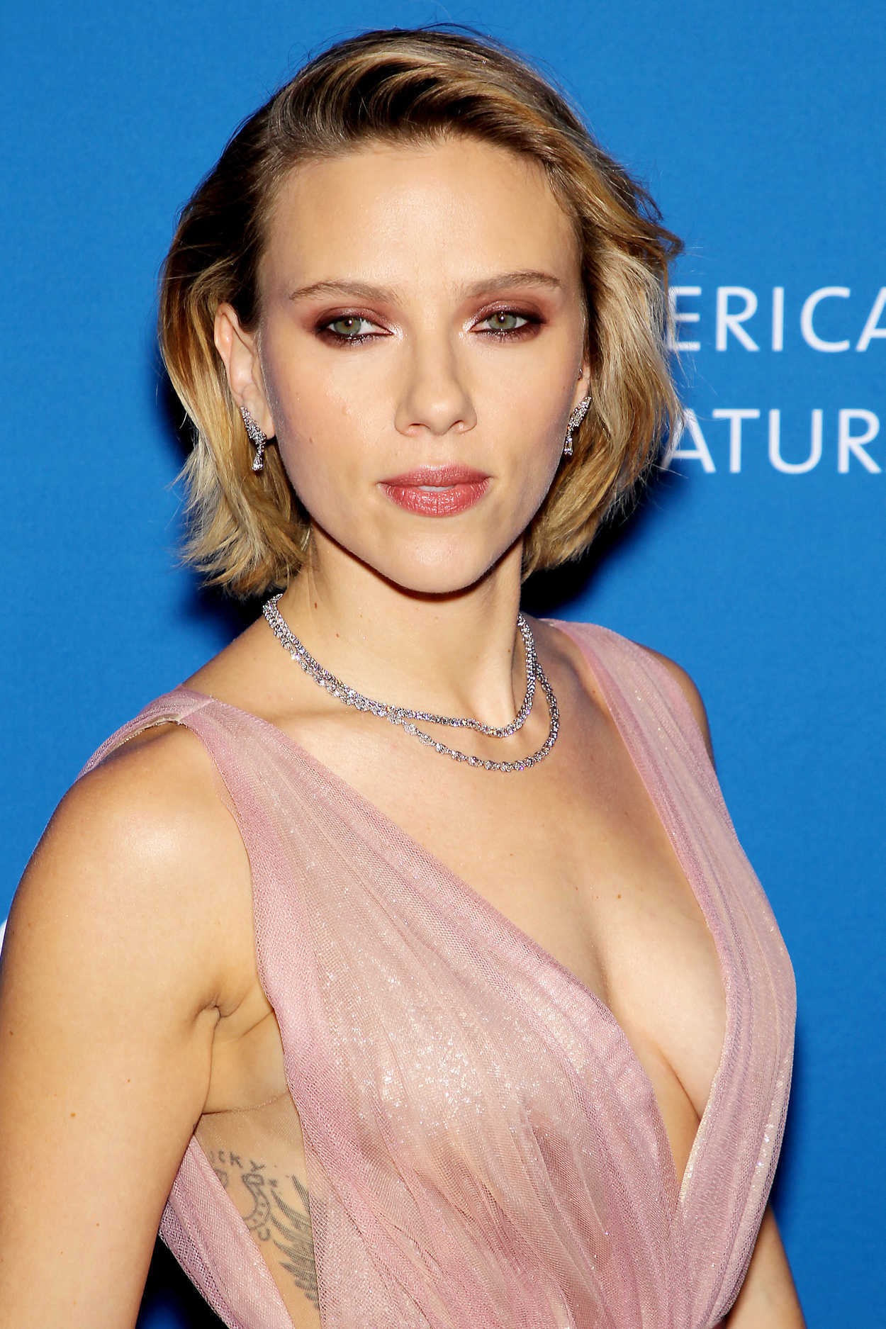 Scarlett Johansson Attends American Museum of Natural ...