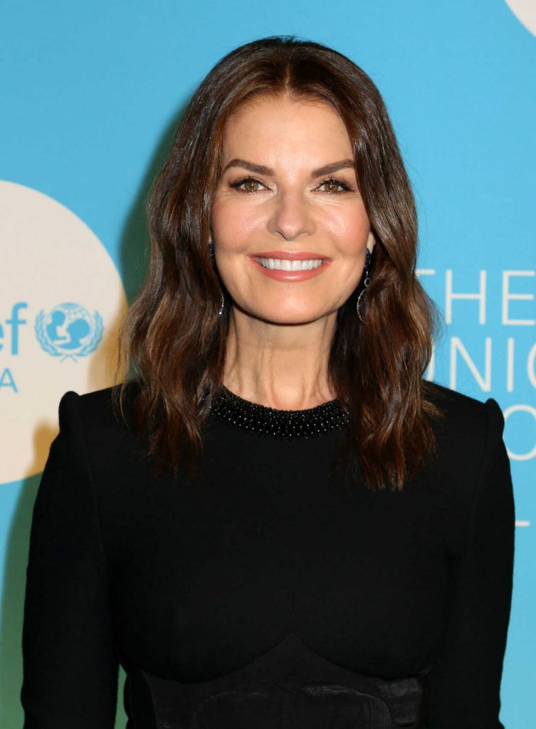 Sela Ward Attends the ...