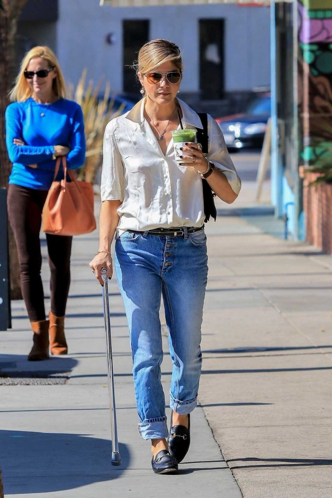 Selma Blair in a Blue Jeans