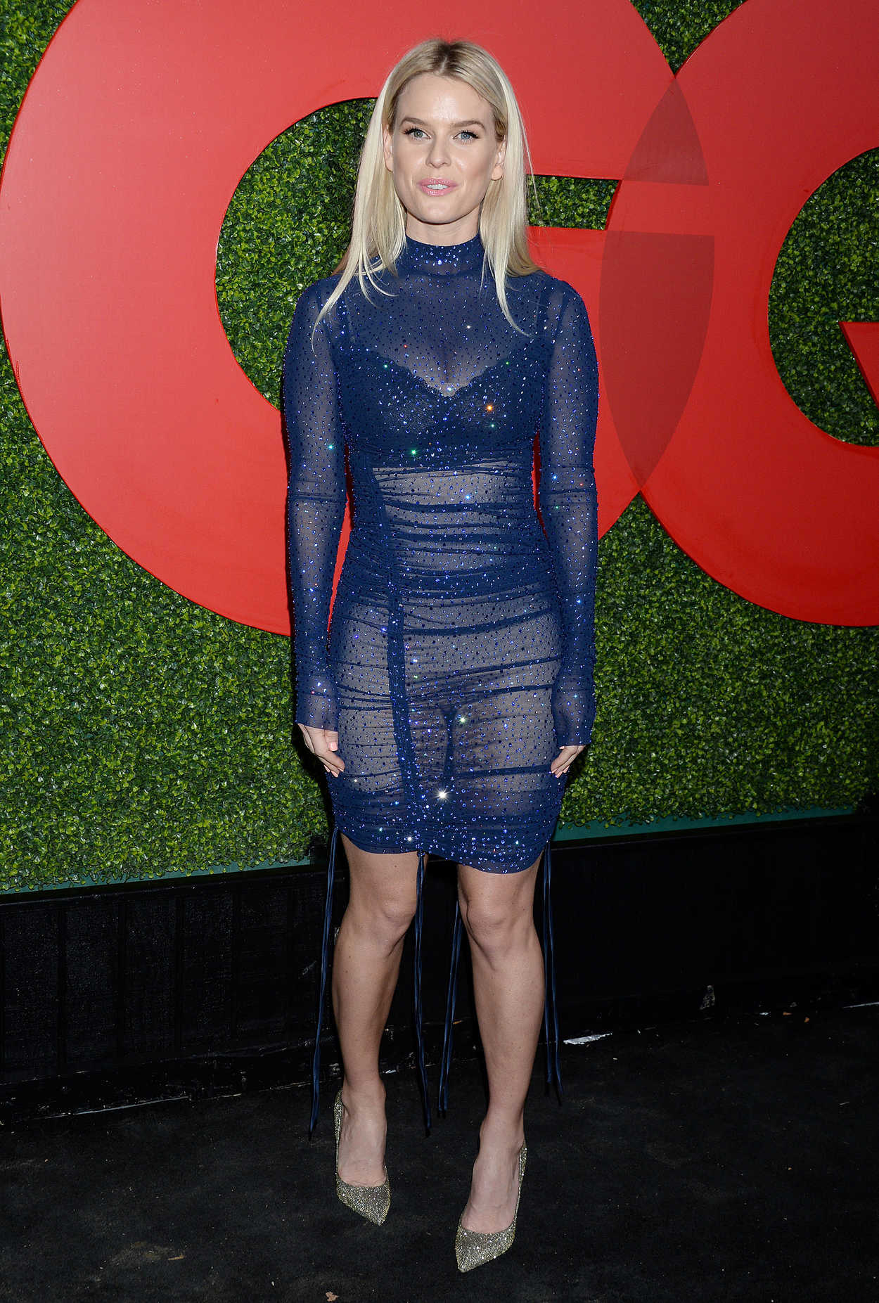 Alice Eve Attends GQ Men of the Year Party in Beverly