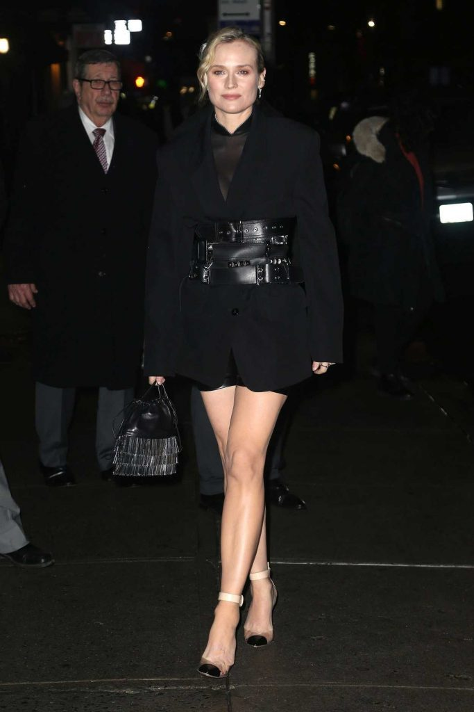 Diane Kruger in a Black Blazer