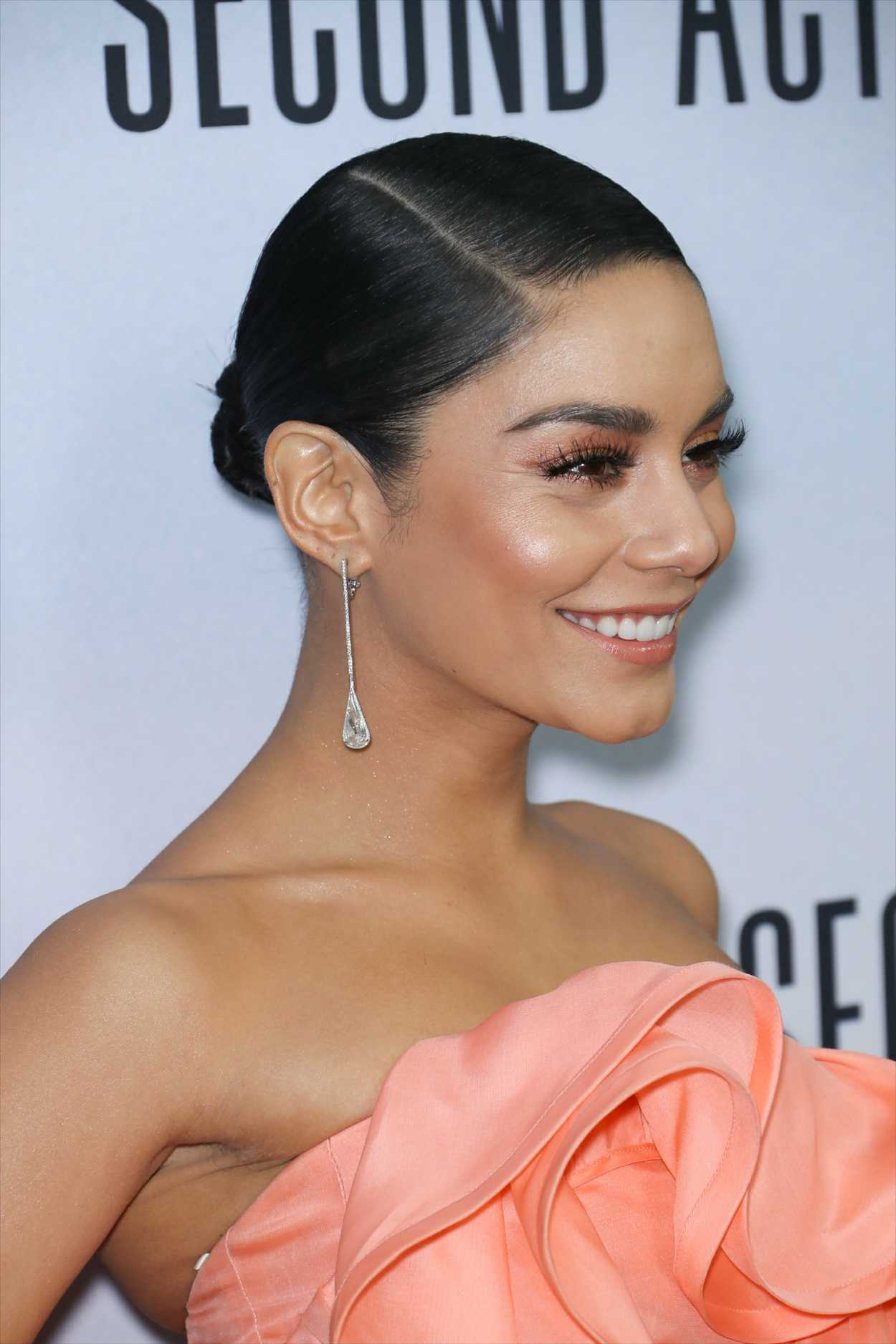 Vanessa Hudgens Attends Second Act Premiere In New York 12