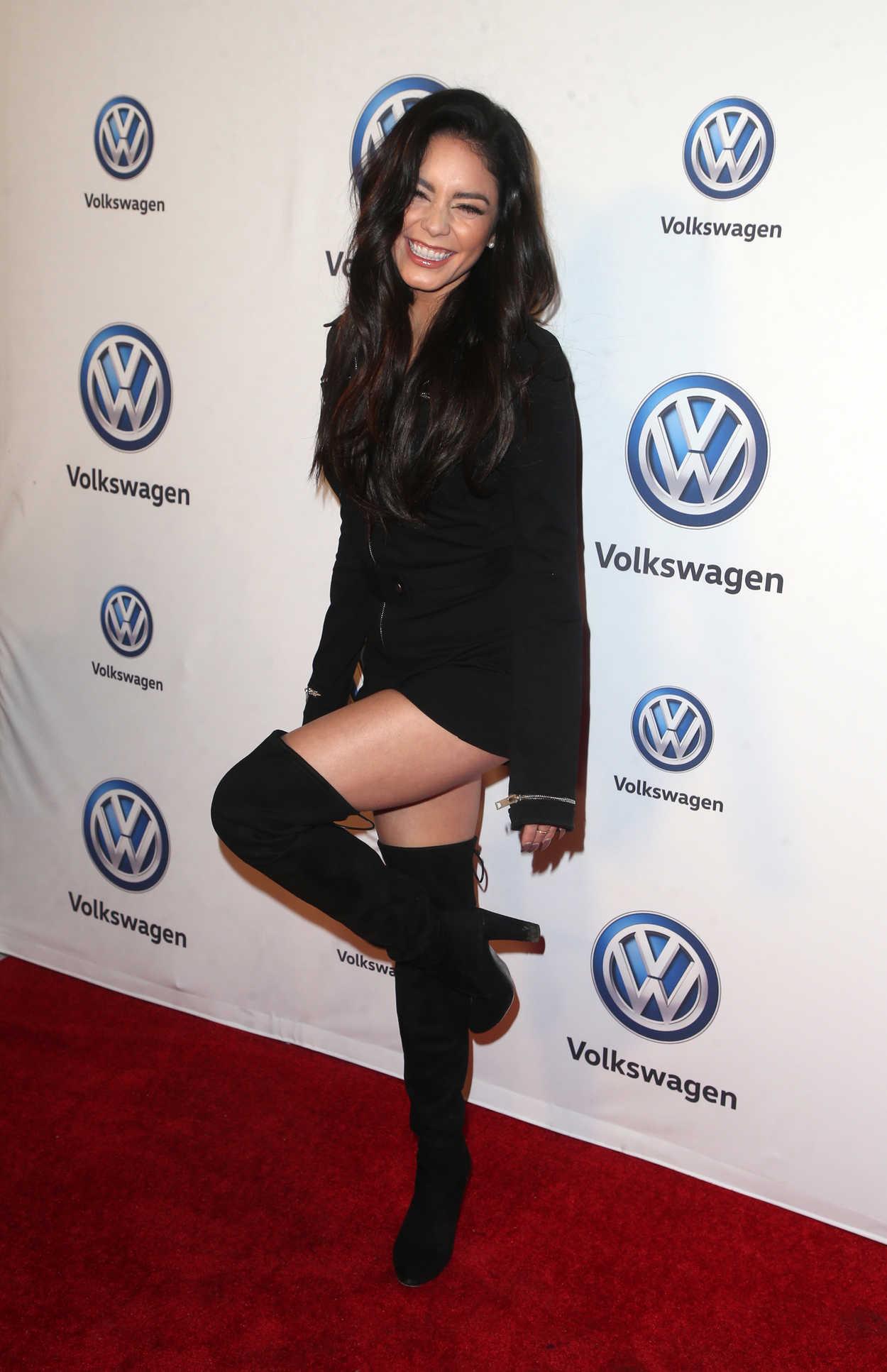 Vanessa Hudgens Attends Volkswagen U2019s Annual Holiday Drive