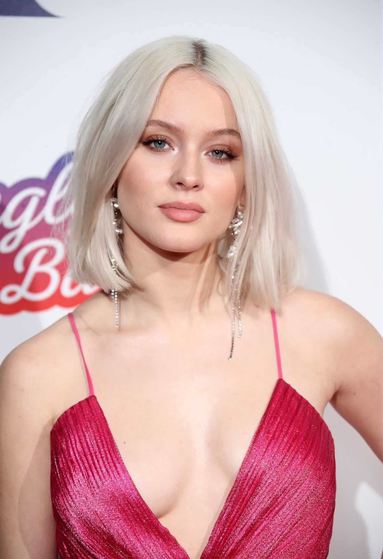 Zara Larsson Attends 2018 Capital FM Jingle Bell Ball In