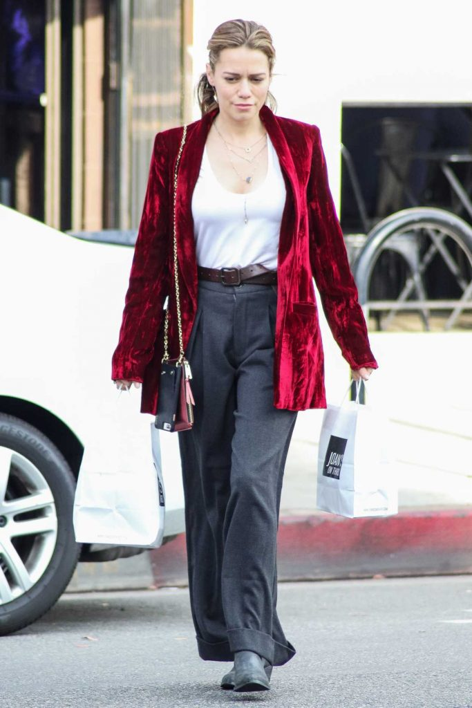 Bethany Joy Lenz in a Red Blazer