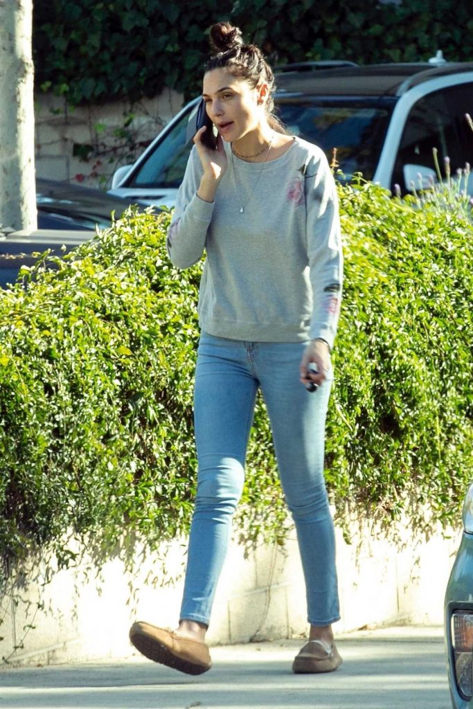 Gal Gadot in a Blue Jeans
