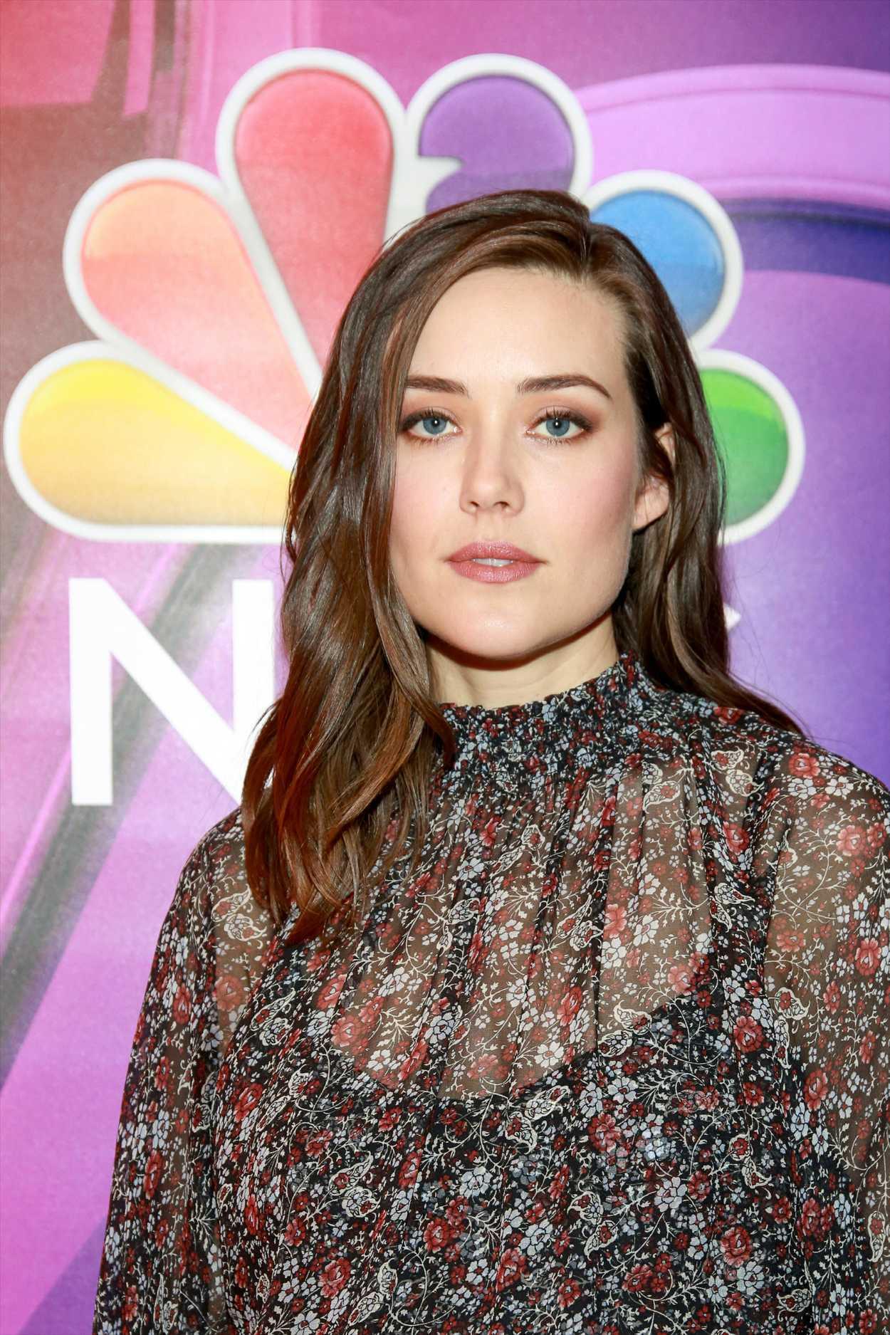 Megan Boone Attends NBCs NY Mid Season Press Junket in