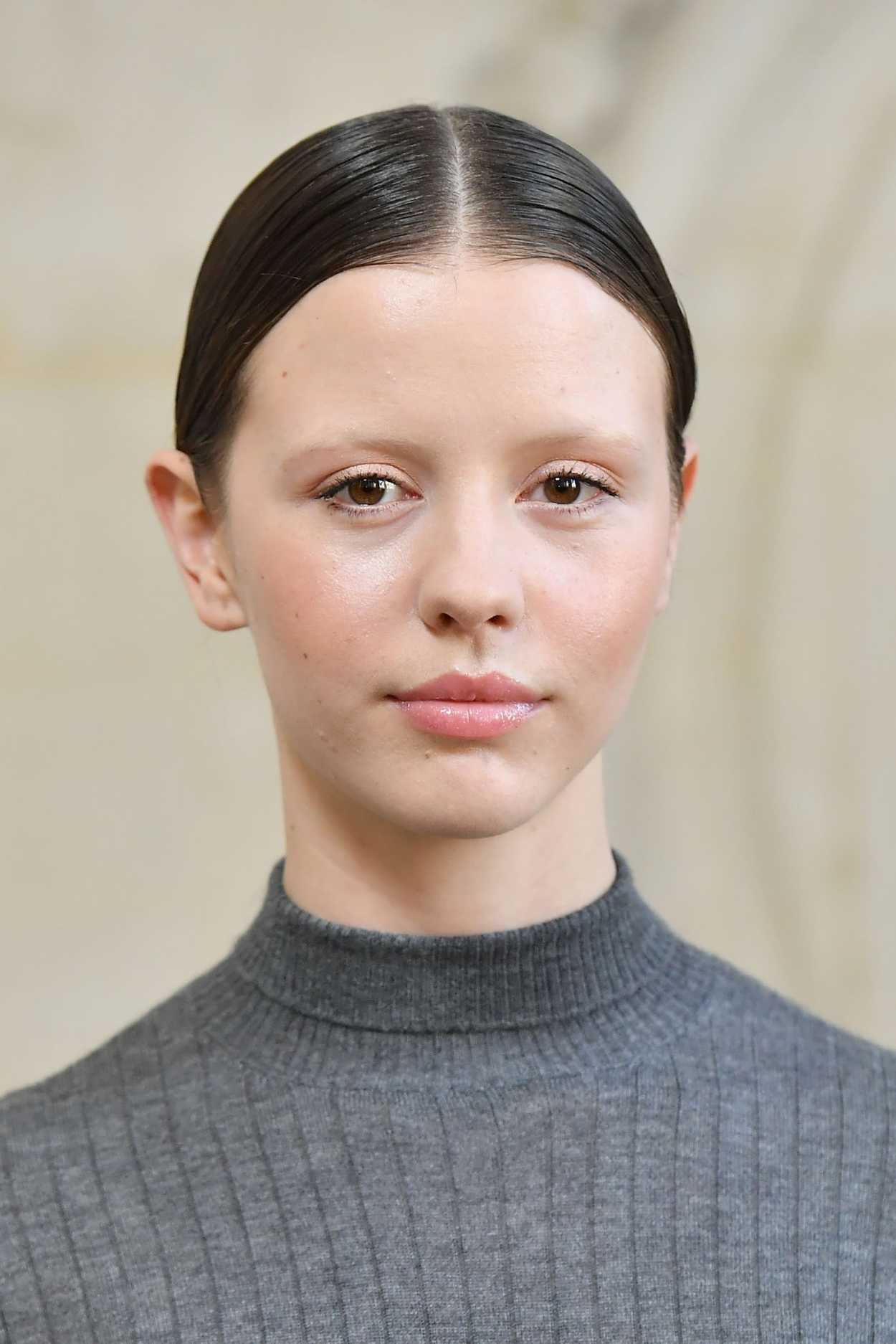 Mia Goth Attends the Christian Dior Show During the Paris
