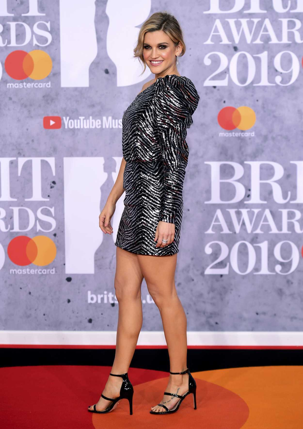 Ashley O Boyle Pro Makeup Design: Ashley Roberts Attends The 39th Brit Awards At The O2