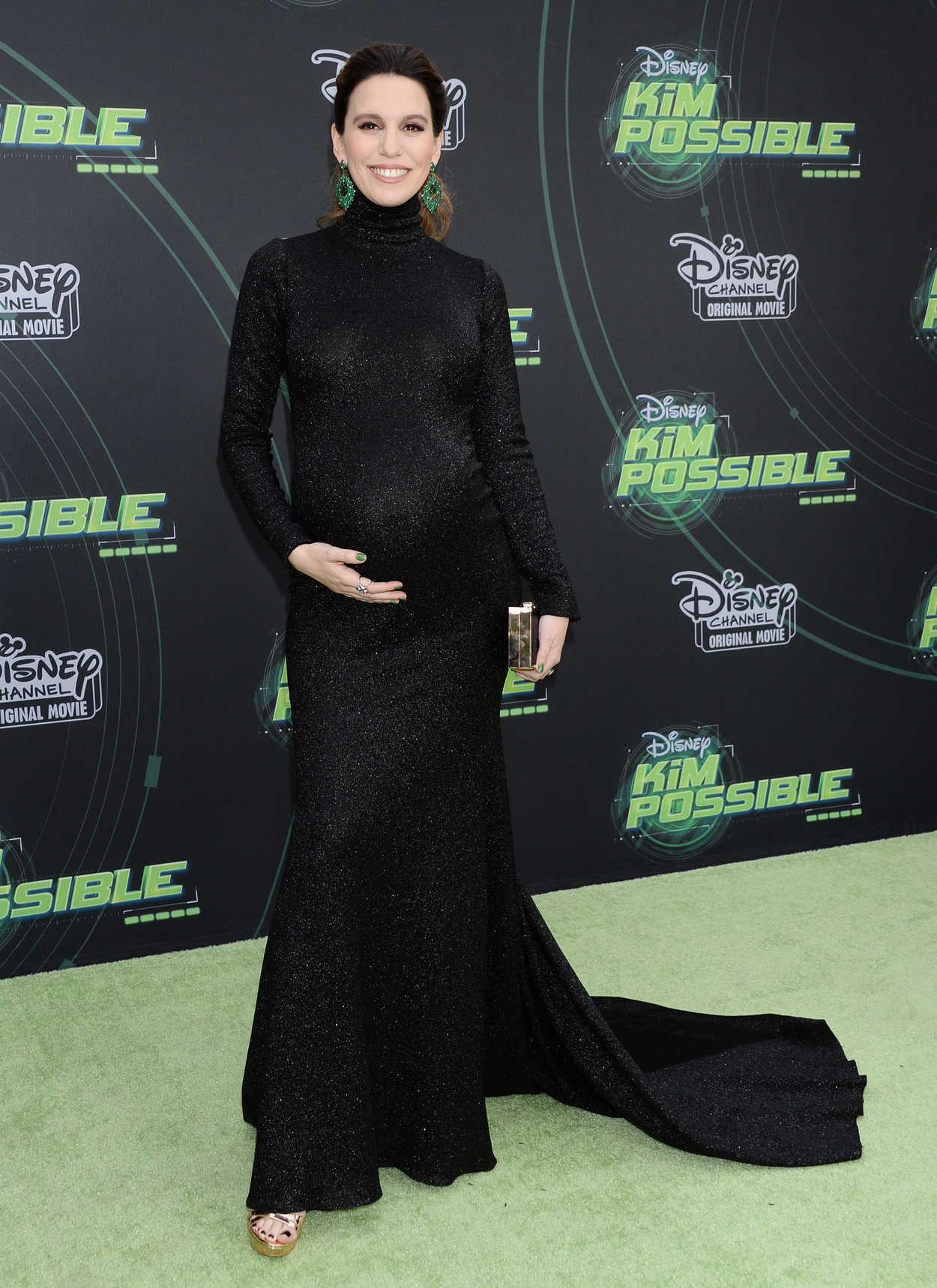 Christy Carlson Romano Attends Kim Possible Premiere
