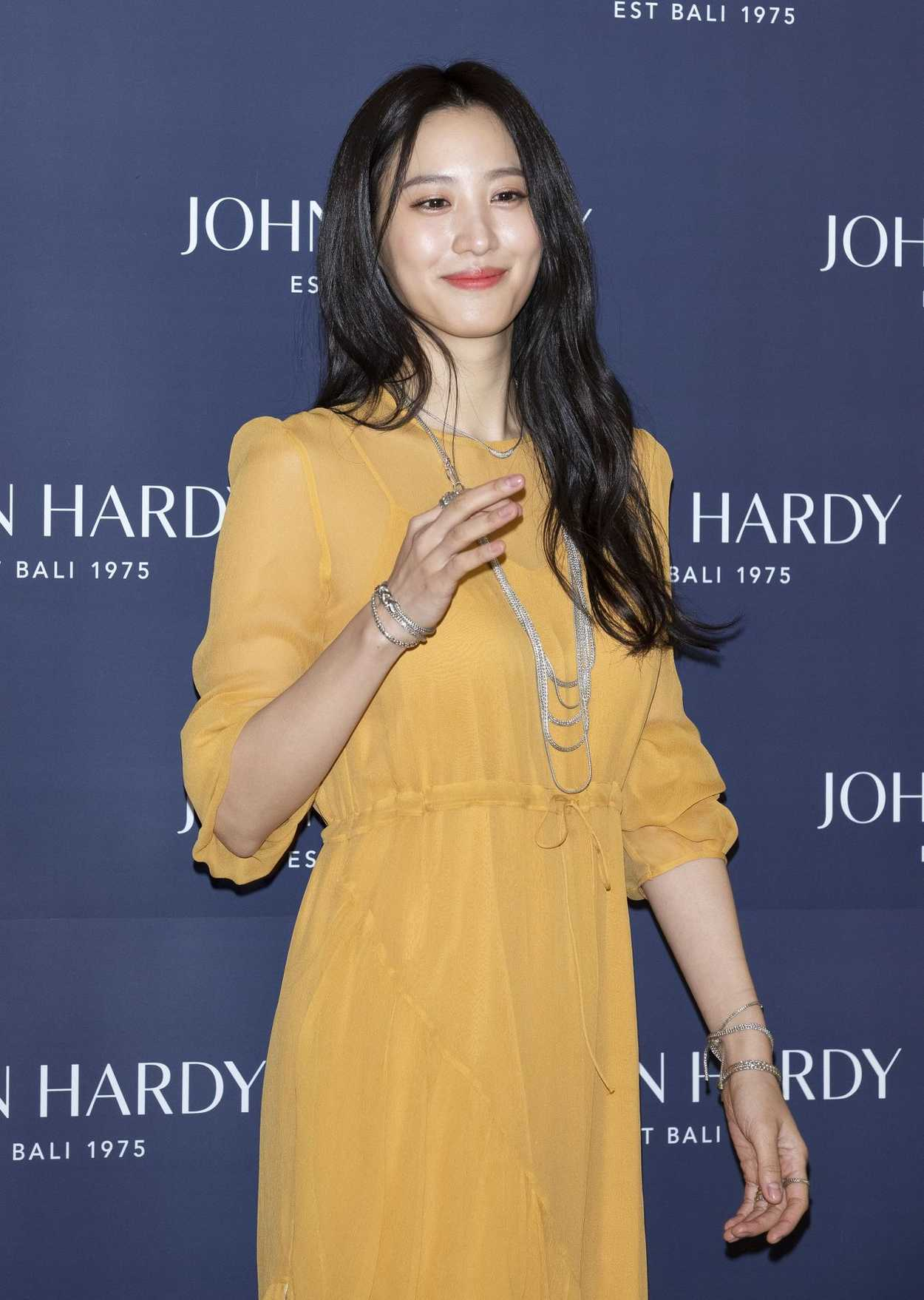 Claudia Kim Attends The John Hardy Fashion Photocall In