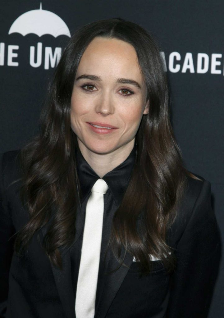 Ellen Page Attends The Umbrella Academy Tv Show Premiere