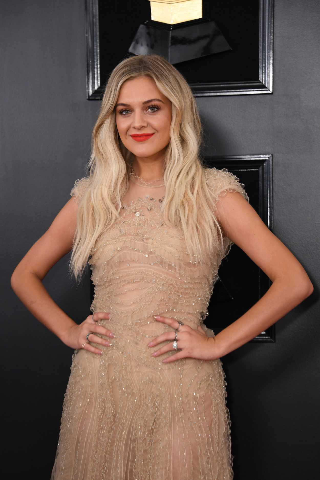 Kelsea Ballerini Attends the 61st Annual Grammy Awards ...