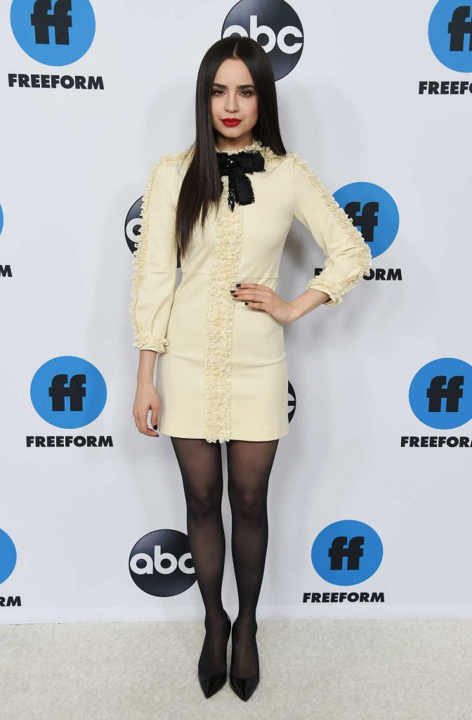 Sofia Carson Attends Freeform S Tca Winter Press Tour In