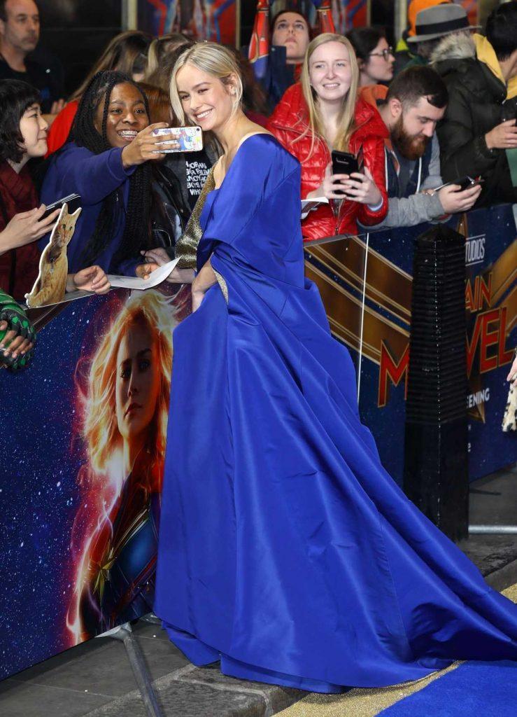 Brie Larson Attends th... Amber Heard
