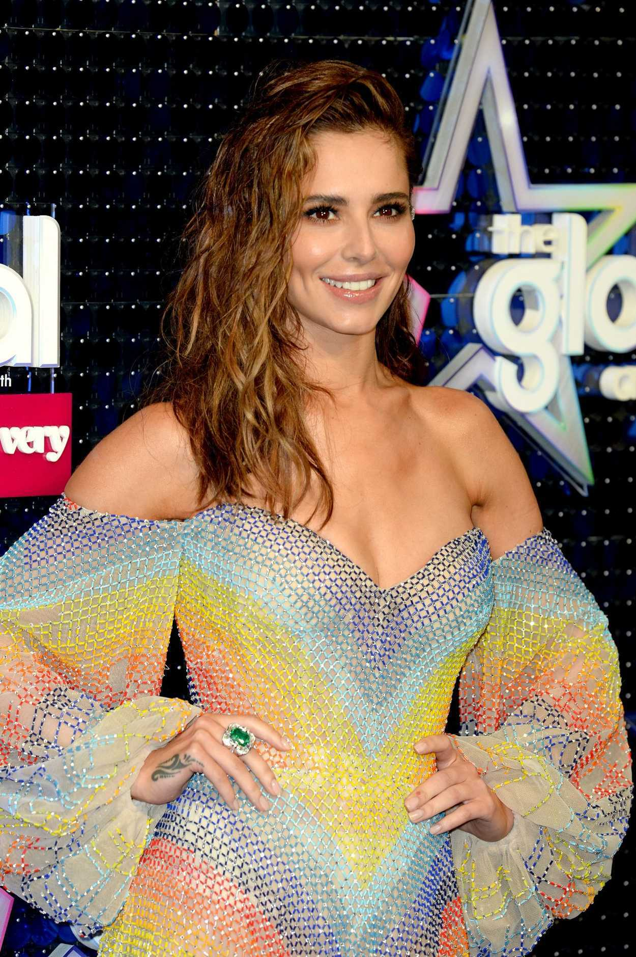 Cheryl Tweedy Attends 2019 Global Awards In London 0307