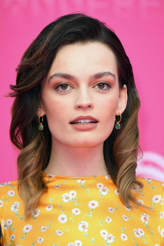 Emma Mackey Attends The Pink Carpet During The 2nd